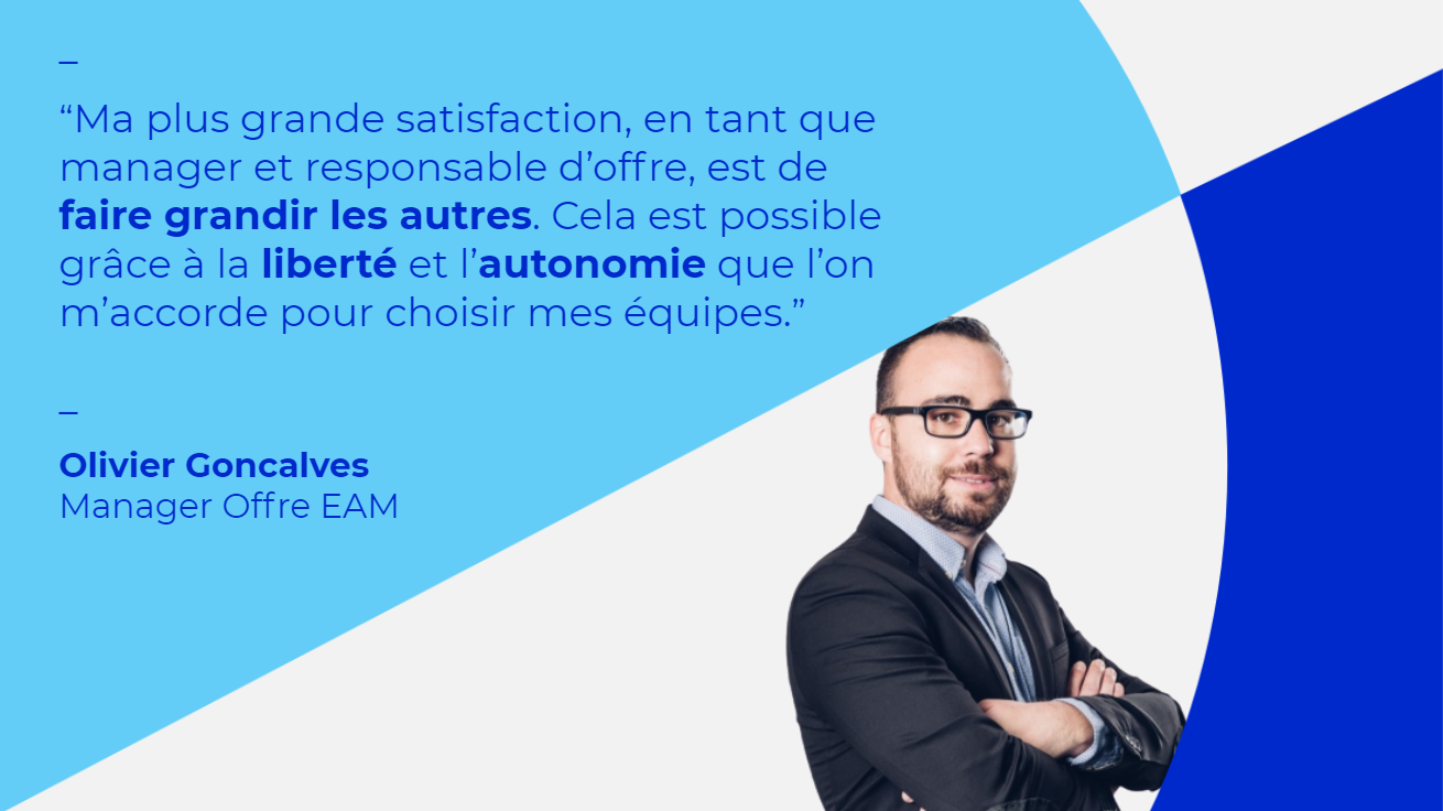 Olivier Goncalves, Manager Offre Enterprise Asset Management chez Talan