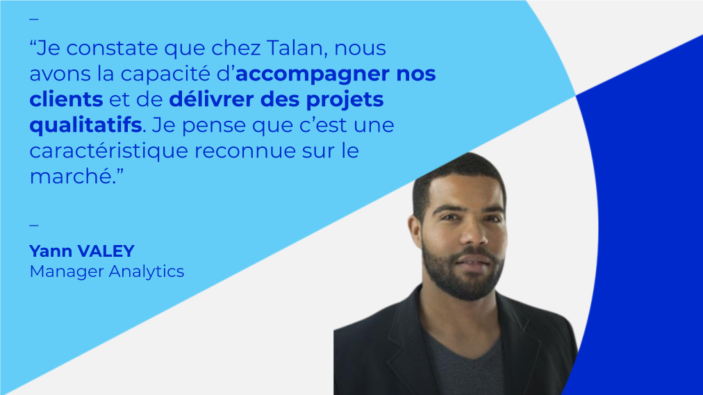 Yann Valey, Manager Analytics