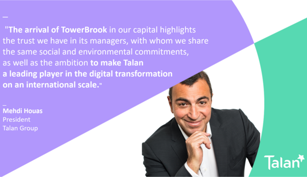 Mehdi Houas, Talan Group's President